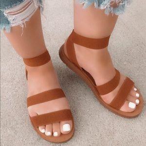 Comfy walking sandals